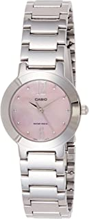 Casio Watch For Women With Movement Japanese Quartz Movement Ltp-1191 A-4 A1 Silver 26 Mm, Analog Display