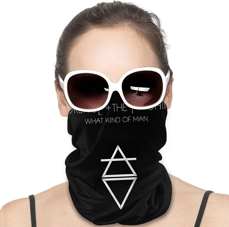Florence And The Machine Men Women Neck Gaiter Multifunctional Uv Protection Face Mask Fashion Scarf Personality Bandana Hiking Headwear Neck Scarf Balaclava