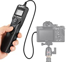 Best SUPON RM-VPR1 Camera Shutter Release Wired LCD Timer Remote Control Intervalometer Time-Lapse Photography Device Compatible for Sony Alpha A7 A7S A7R A3000 A7M2 A7R2 A7II A7III A7RIII A7SIII A6000 Review