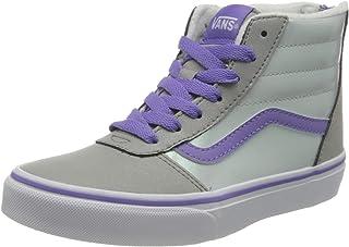 Vans Ward Hi Zip Weatherized Suede, Sneaker Niñas