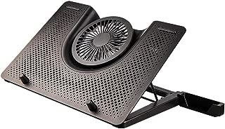 K/ühlpads 2400 U//min Professioneller 5-L/üfter-Laptop-K/ühler Cooling Pad Stand gr/ö/ße : Black+LCD Display max doppelte einstellbare Geschwindigkeit bis zu 17,3 2 USB