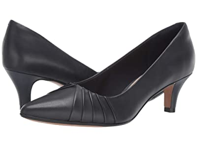 Clarks Linvale Crown (Navy Leather) Women