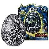 Dragons 6046183 - Ohnezahn Babydrachen Ei, Hatching Dragon, Ohnezahn zum Ausbrüten, Soundeffekte, Kopf - und Bauchsensoren, interaktiv