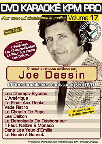 DVD Karaoke Karaoke Pro Vol.17 '' Joe Dassin ''