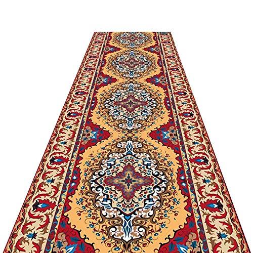 alfombra de Pasillo Estilo Japones, Largo Clásico Cocina Alfombras de Área/Lavable Felpudo de Entrada, de Múltiples Fines Alfombra del Piso (Size : 110×400cm(3.6ft×13ft))