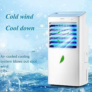 BelievE Enfriador De Aire Grande,Aire Acondicionado Portátil Climatizador Evaporativo 4 En 1 Enfría Ventilador Humidifica Ion Negativo,3 Modos,1-8 H Temporizadores, Control Remoto 85W, 10L