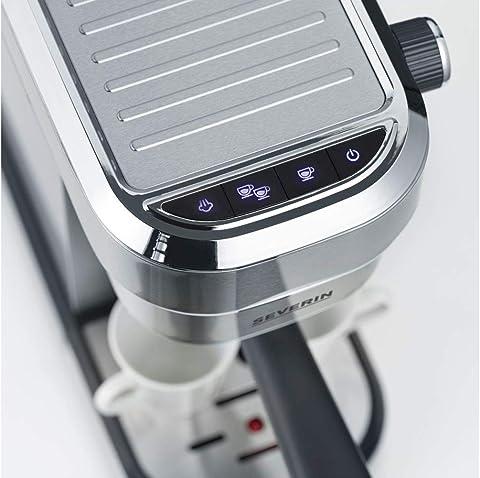 Severin Espresa KA 5994 Siebträgermaschine mit Milchaufschäumdüse
