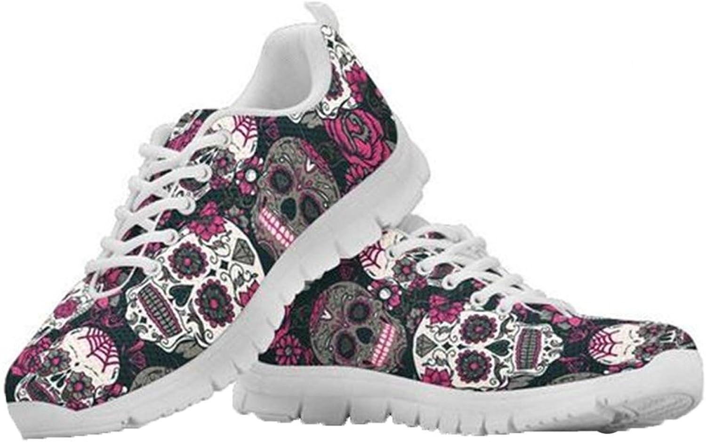 coloranimal Casual Lightweight Running Walking Sneakers for Women Flexible Tennis shoes