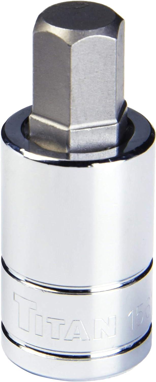Titan 15620 1//2-Inch Drive x 20mm Hex Bit Socket