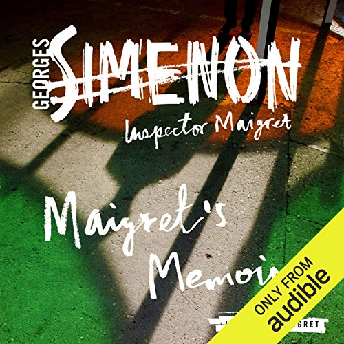 Maigret's Memoirs audiobook cover art