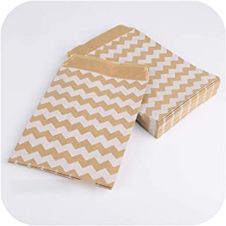 Oblique-Unique/® Pop Korn scatola Gravidanza Blu a righe Pop Korn Sacchetti di Baby Shower Ready To Pop 8/pezzi