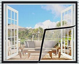 BASHI Transparant raamscherm, scheurvast veiligheidsnet voor katten, afneembaar wasbaar, premium raamgaas met zelfklevende...