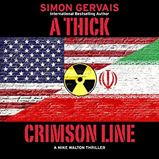 A Thick Crimson Line: A Mike Walton Thriller audiobook cover art