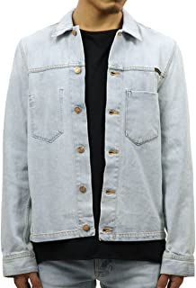 [ヌーディージーンズ] Nudie Jeans 正規販売店 メンズ デニムジャケット RONNY DENIM JACKET CRISPY OCEAN DENIM 160498 5018 B26 (コード:4116556225)