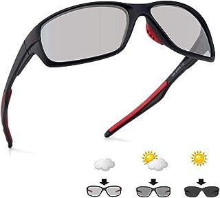 sunglasses restorer - Gafas de Ciclismo Fotocromaticas, Polarizadas o Transparentes para Hombre y Mujer, Modelo Ezcaray, Cabezas Pequeñas y Medianas