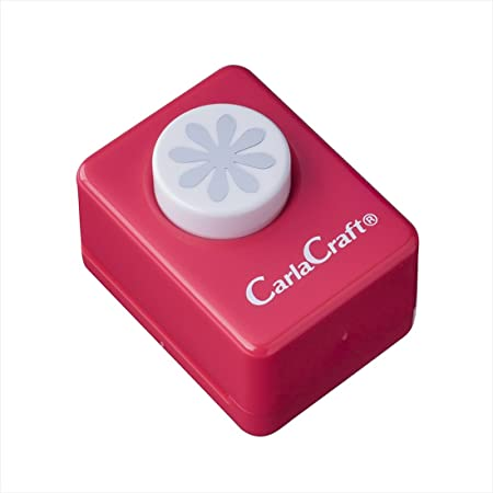 カール事務器 クラフトパンチ スモールサイズ デイジー CP-1