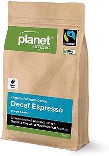 Planet Organic Whole Bean Decaf Espresso Coffee, 250 g