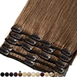 Extension a Clip Cheveux Naturel Rajout Cheveux Humain Remy Extensions Invisibles -...
