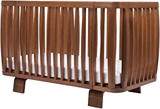 Bloom Retro Solid Wood US Standard Size Baby/Toddler Crib in Oak - Made in Europe