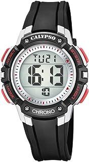 Calypso Garçon Digital Quartz Montre avec Bracelet en Plastique K5739/4