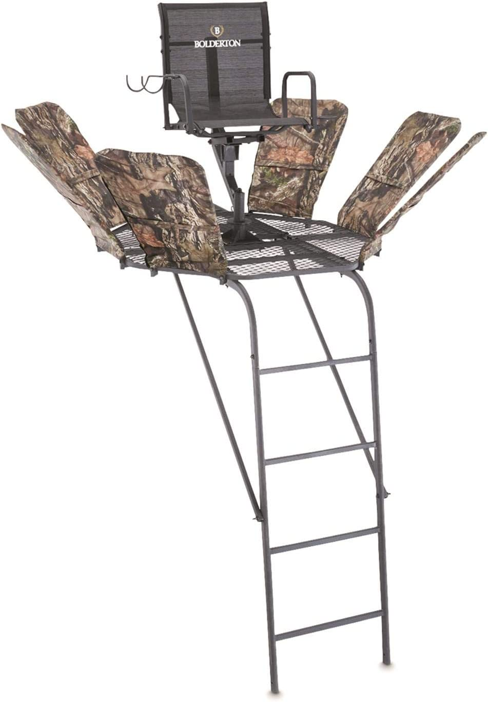 Bolderton 360 19' Ladder Tree System Lad with Max Cheap mail order specialty store 69% OFF Safety Stand