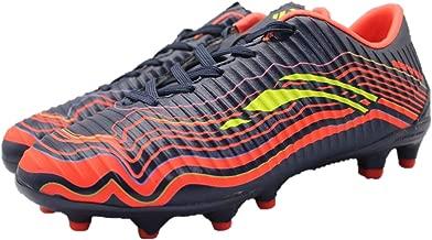 Response Football Shoes for Boys (32 EU, Navy Orange)