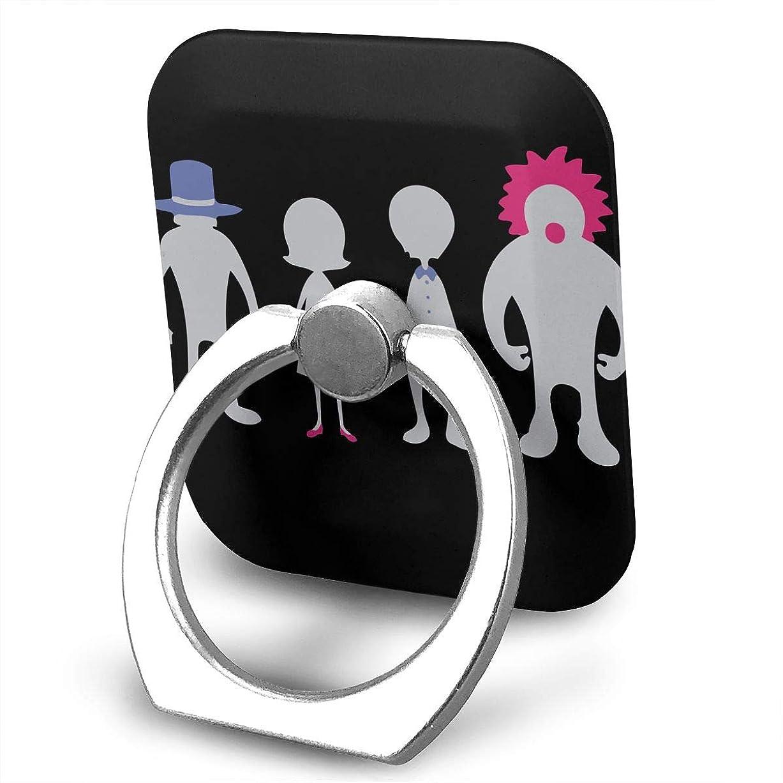 ベジタリアンためらうケージSEKAI NO OWARI セカオワ せかいのおわり スマホ リング ホールドリング 指輪リング スクエアス 薄型 おしゃれ スタンド機能 落下防止 360度回転 タブレット/スマホ IPhone/Android各種他対応