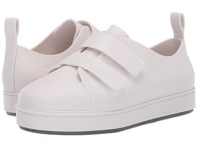 Mini Melissa Mel Go Sneaker Inf (Little Kid/Big Kid) (White) Girl