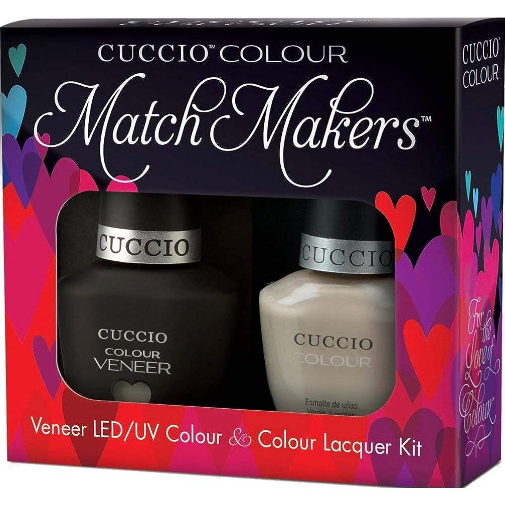 最初に抑止する捧げるCuccio MatchMakers Veneer & Lacquer - Fair Game - 0.43oz / 13ml Each