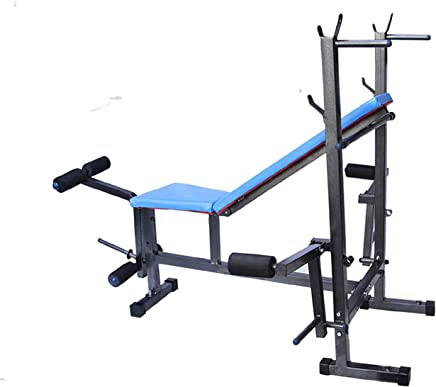 Rjkart 8 in 1 Steel Multipurpose Adjustable Exercise Bench