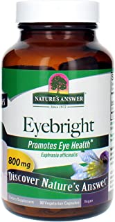 Nature's Answer Eyebright Herb | Supports Healthy Eyes & Vision | Non-GMO | Alcohol-Free, Gluten-Free, Kosher Certified & ...