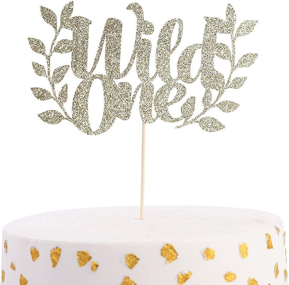 Wild One Birthday Cake Topper - First Birthday Cupcake Topper, Boho Cake Cupcake Topper, Tribal Cupcake Topper, One Cupcake Topper,Smash Cakes, Photo Props