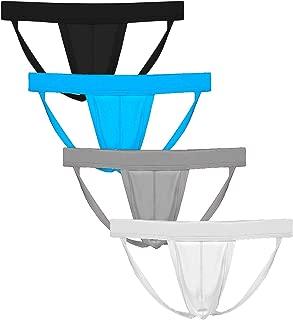 Men's Athletic Supporter Performance Jockstrap Elastic Waistband Underwear