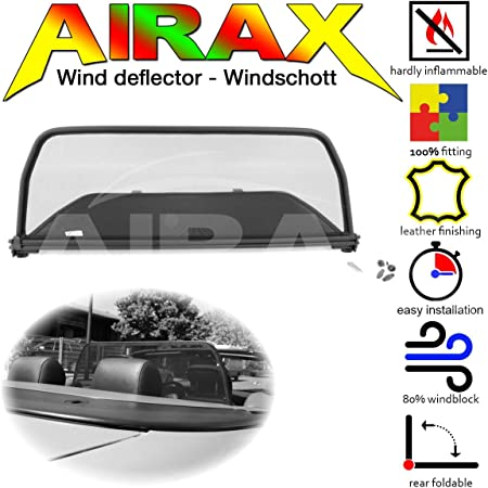 Airax Windschott Für Mg F Mg Tf Windabweiser Windscherm Windstop Wind Deflector Déflecteur De Vent Auto