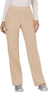 Workwear Revolution Women's Mid Rise Straight Leg Pull-On Scrub Pant