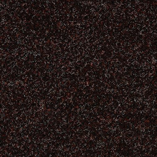 Kunstrasen Rasenteppich mit Noppen | Höhe ca. 7,5mm | 133, 200 und 400 cm Breite | braun rot | Meterware, verschiedene Größen | Größe: 5 x 4 m