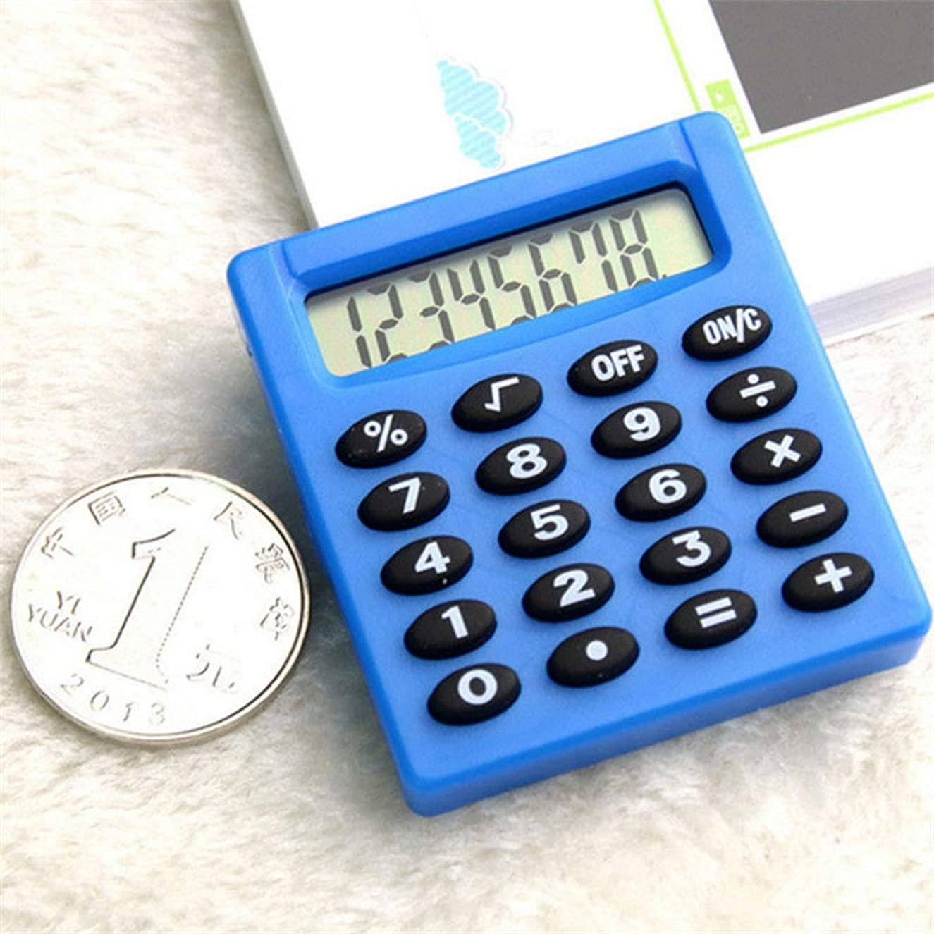 落ち着いた複雑冊子電子計算機 電子計算機 太陽電池デュアルパワーオフィス計算機 デスクトップ計算機 デスクトップ計算機 大型LCDモニター 大型LCDモニター 太陽電池デュアルパワーオフィス計算機 XG-88 (Blue)