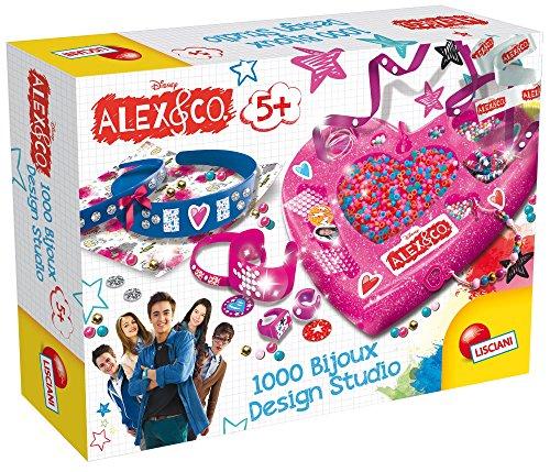 Lisciani Giochi 56057 - Alex & Co 1000 Bijoux Design Studio