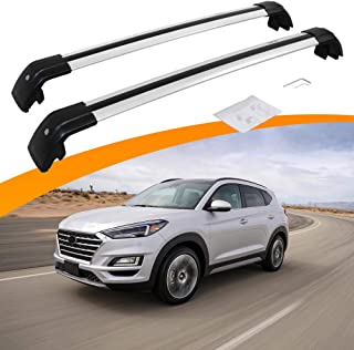SnailAuto Fit for 2016 2017 2018 2019 2020 Hyundai Tucson Cross Bars with Anti-Theft Locks Cargo Carrier Luggage Roof Rack Rail