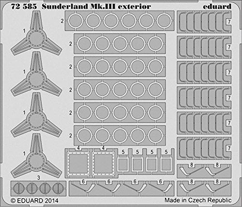 Eduard Photoetch 1:72 - Sunderland Mk III Exterior (Italeri)