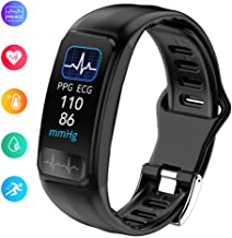 OOLIFENG Smart Watch Fitness Tracker, IP67 Waterproof Activity Wristband with Blood Pressure Heart Rate Monitor, Pedometer Compatible with iOS Android
