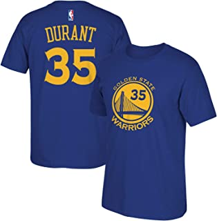 NBA Youth 8-20 Performance Game Time Team Color Player Name and Number Jersey T-Shirt (X-Large 18/20, Kevin Durant)