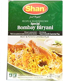Shan Special Bombay Biryani Mix 60g (Pack of 2)