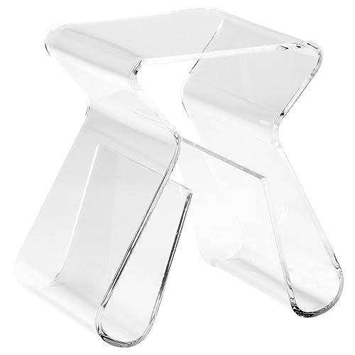 Acrylic Side Tables: Amazon com