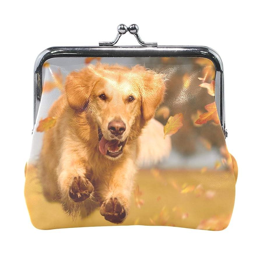 冷える原理懐AOMOKI 財布 小銭入れ ガマ口 コインケース レディース メンズ レザー 丸形 おしゃれ プレゼント ギフト オリジナル 小物ケース ドッグ 犬柄 可愛い犬柄