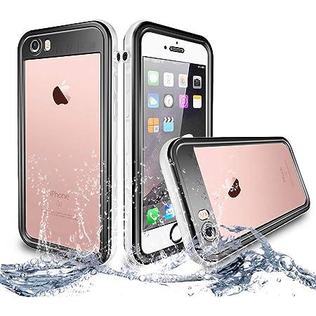 NewTsie Coque Étanche iPhone 6, Coque Antichoc iPhone 6s, Imperméable IP68 Anti-Chute Anti-poussière et Anti-Neige Housse pour iPhone 6/6s 4.7 inch ...