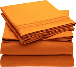 Best orange egyptian cotton sheets Reviews