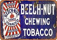 ブナナッツの噛みタバコ 金属板ブリキ看板警告サイン注意サイン表示パネル情報サイン金属安全サイン