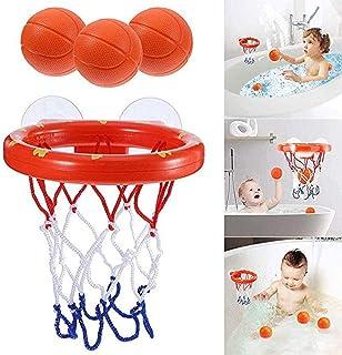 Baby Bath Toys Kids Basketball Hoop Balls Set Fun Ball Games in Bath Shower Bathtub Shooting Game for Toddlers Kids Little...