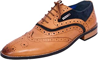 Maplewood Tan Genuine Leather Austin hoes For Men